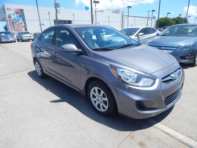 Certified Used Hyundai Accent 4dr Sdn Auto GLS
